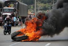 Protesta En Carretera