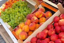 Peaches, Apricots, White Grape...