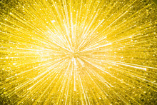Colorful Gold Lights Explosion