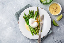 Asparagus, Poached Egg And Hol...