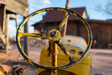Old Tractor Steering Wheel