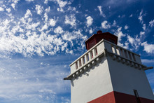 Brockton Point Lighthouse, Stanley Park, Vancouver, BC, Canada.