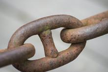Anchor Rusty Chain