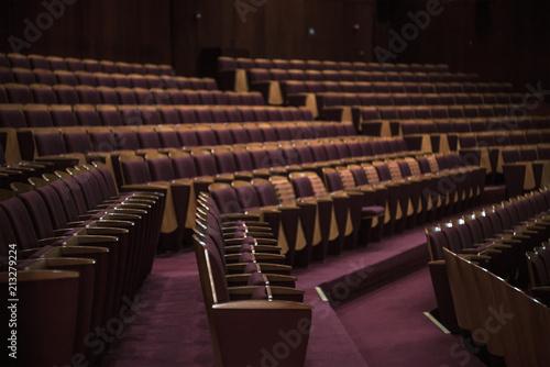 Spoed Foto op Canvas Theater Public Theater Hall