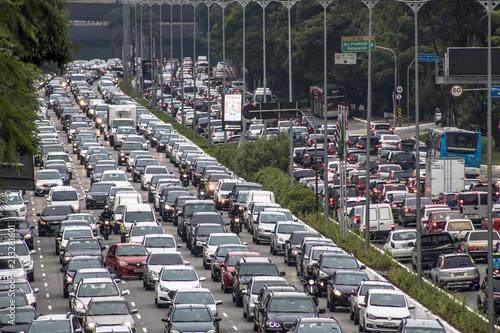 Fotografia, Obraz  Sao Paulo, Brazil, December 08, 2017