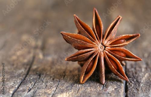 Fototapeta Aromatic star anise obraz
