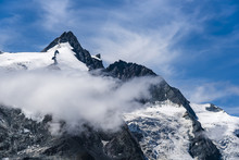 Tranquil View Of Glaciers On Mountain Ranges