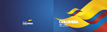 Independence Day Colombia Flag...
