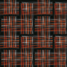Abstract Criss Cross Weave Seamless Vector Pattern Background, Red Black Hand Drawn Stripes Grid Illustration For Fashion Prints, Pretty Stationery, Wallpaper, Geometric Backdrops & Trendy Home Decor