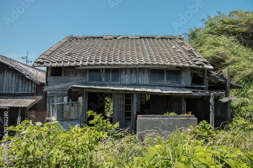 Fotografie, Obraz  青島の廃屋