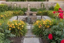 Quiet Reflective Garden