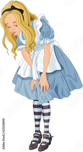 In de dag Sprookjeswereld Alice from Wonderland