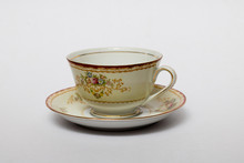 An Isolated Porcelain Cup In A...