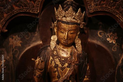 Fotografia  in a Buddhist monastery in Tibet