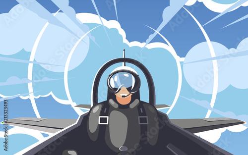 Pilot 2 Canvas Print