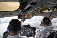 Helicopter Flight Pilots In Co...