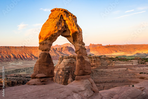 Spoed Foto op Canvas Verenigde Staten Delicate Arch in Arches National Park, Utah