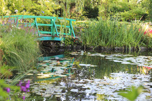 Botanical Garden Of Painter Monet In Giverny, France