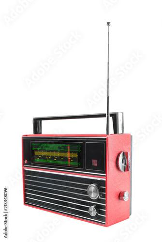 Transistor portable radio receiver Slika na platnu