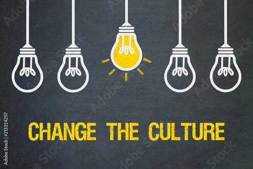 Fotografiet  Change the Culture