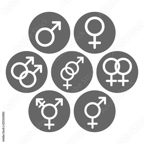 Bisexual female symbols