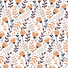 Modern Seamless Pattern With A...