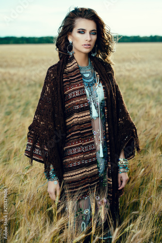 Poster Gypsy mood of autumn