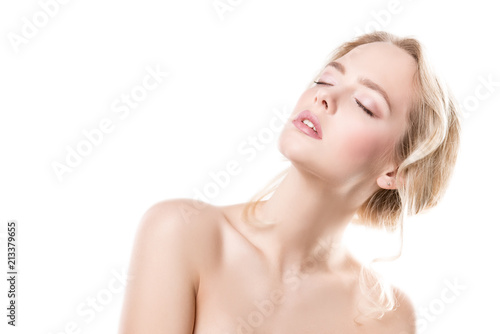Foto op Aluminium Akt sexy young woman