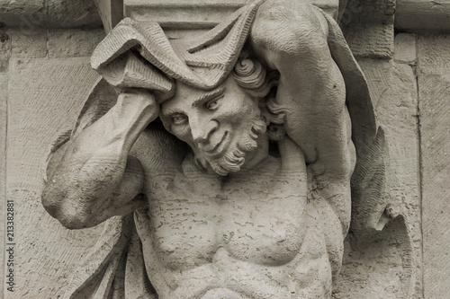 Foto  Skulptur im Zwinger Dresden Detailansicht