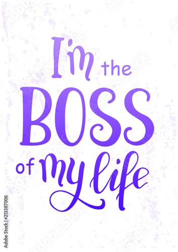 ilustracja-wektorowa-z-kaligrafii-napis-frazy-motywacyjne-jestem-szefem-mojego