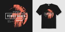 Venice Beach T-shirt And Appar...