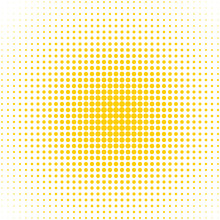 Dotted Background -  Yellow