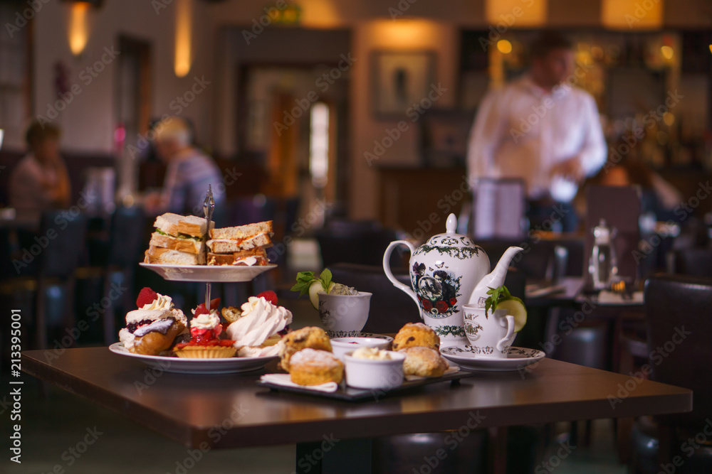 Fototapety, obrazy: Afternoon Tea for Two