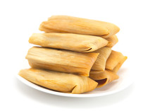 Homemade Wrapped Tamales Isola...