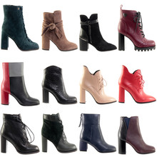 Ankle Boots Collage