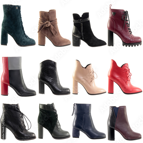 Fototapeta Ankle boots collage obraz