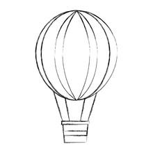 Hot Air Balloon Travel Recreation Design