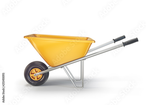 Fotomural  wheelbarrow