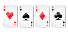 Ace Card Suit Icon Vector, Pla...