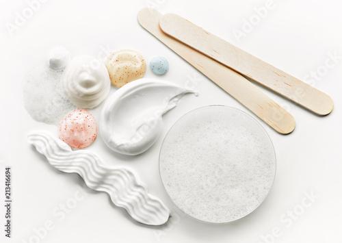 Fototapeta  various cosmetic creams