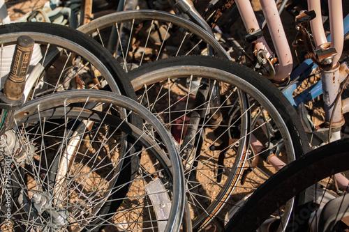 In de dag Fiets Bicycle Wheels
