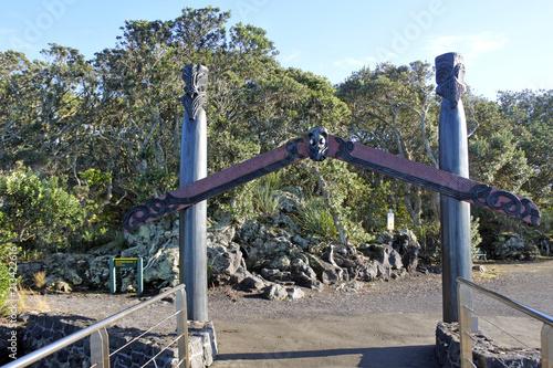 Fotobehang Oceanië Maori gate in Auckland New Zealand