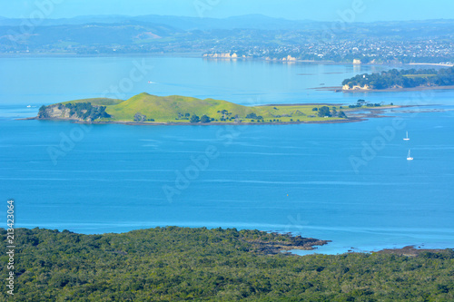 Foto op Canvas Oceanië Landscape view of Browns Island New Zealand