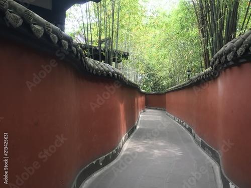 Foto op Plexiglas Olijf 中国 四川省 成都 武侯祠