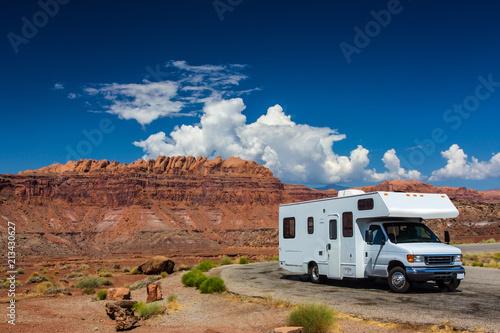 Obraz na plátně RV canyonlands