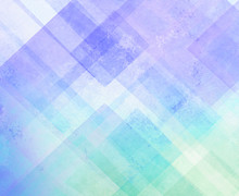 Blue Purple And Green Abstract Background Design With Texture, Modern Geometric Blocks Triangles And Shapes Layered In Abstract Pattern