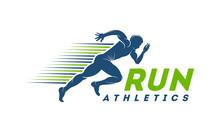 Running Man Silhouette Logo Wi...