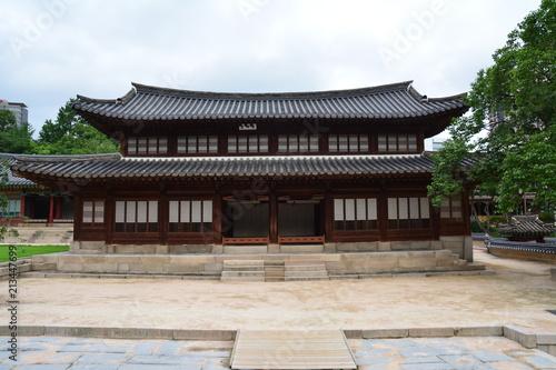 Fotobehang Seoel Deoksugung Palace, Seoul, Korea, Südkorea