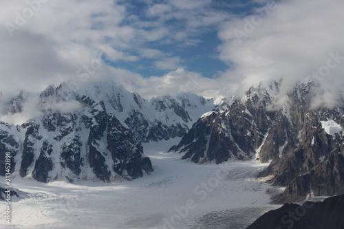 Deurstickers Gletsjers Gletscher Alaska