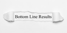 Bottom Line Results On White T...